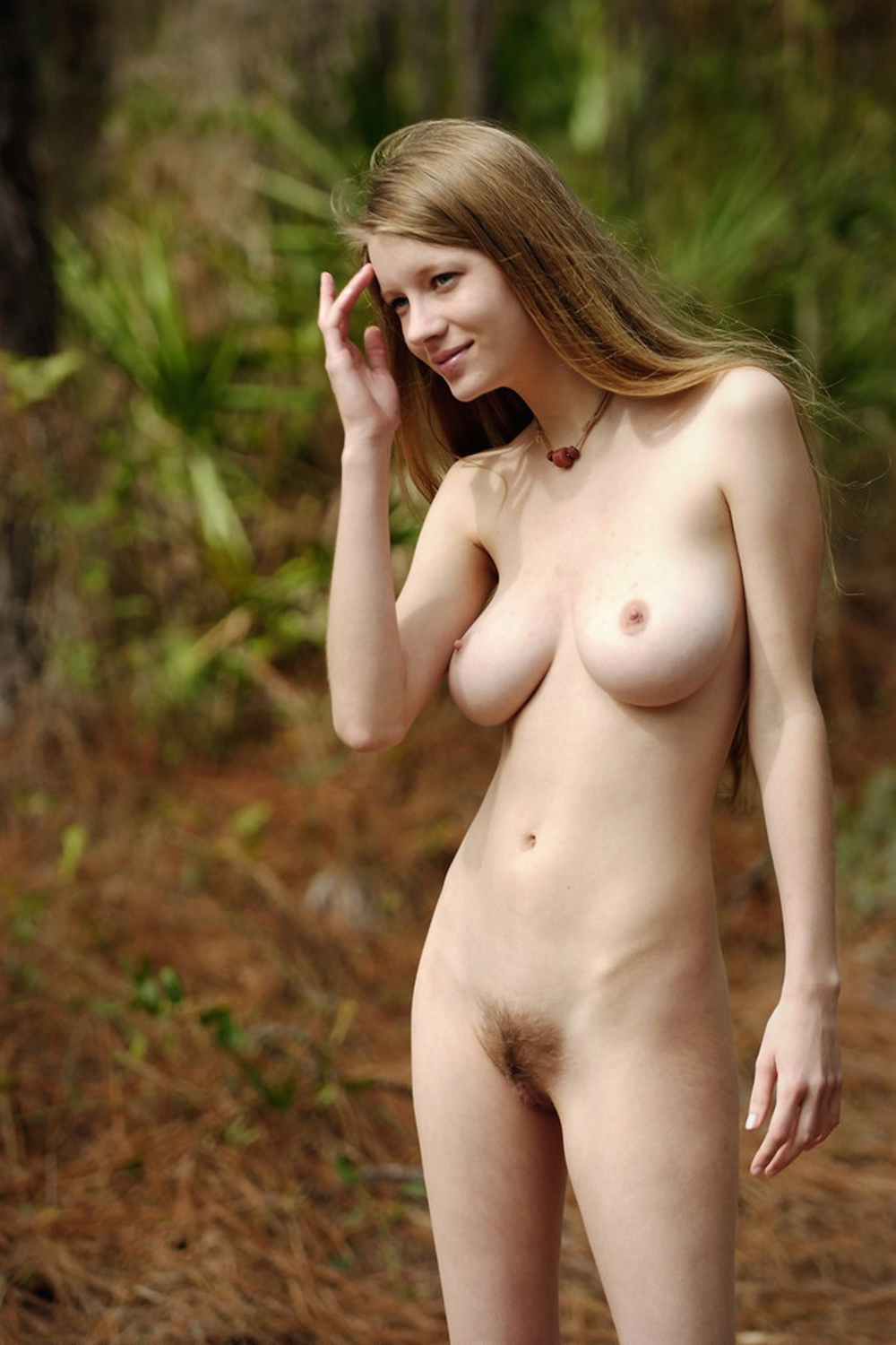 Watch Natural Nude Girl Hairy Cum Pussy