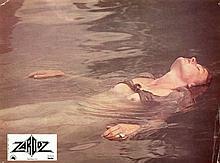 Vintage Photo Lobby ZARDOX sexy Charlotte Rampling