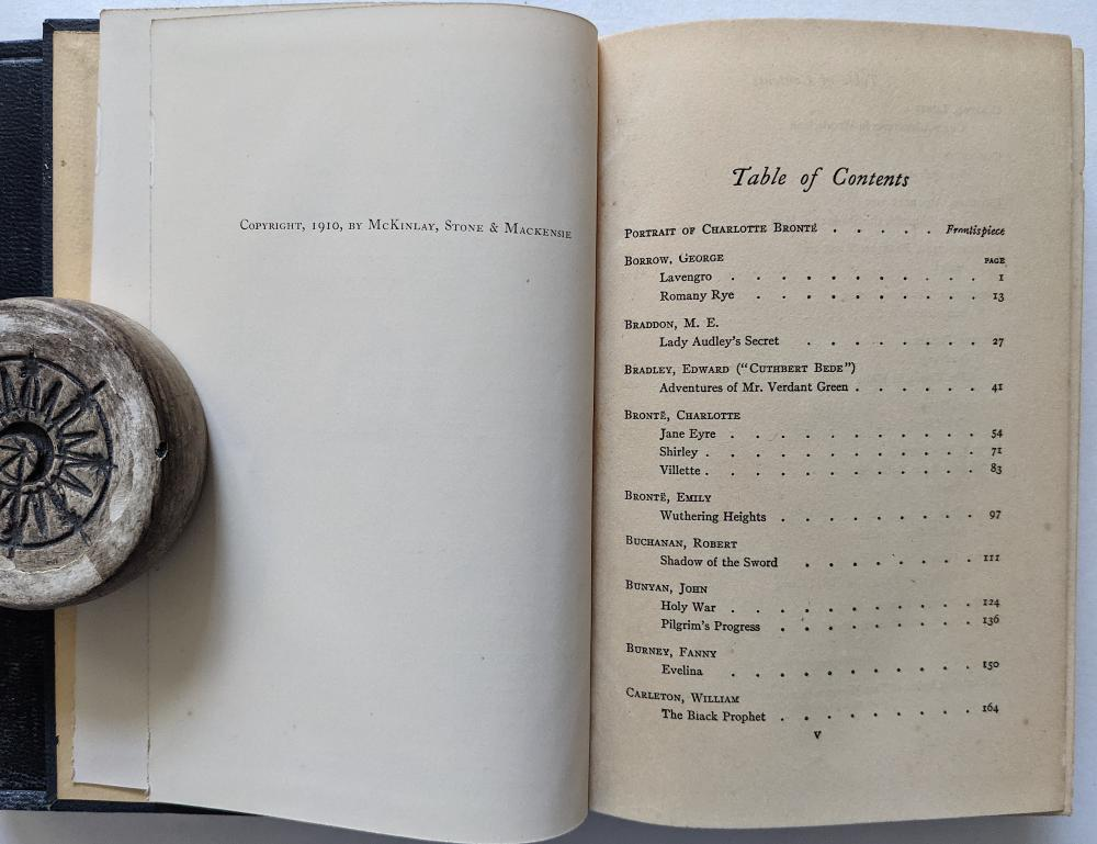 Antique Set 20 Books The World's Greatest Books, 1910