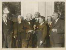 Friends Hnor THOMAS EDISON, 1923