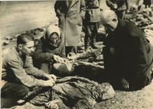 SILver Gelatin Russian Liberation WWII, Holocaust 1940's