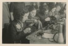 Silver Photo Jew Prisioners Nazi Concentration Camp