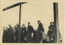 Silver Photo Russian Archives Nazis Executed WWII