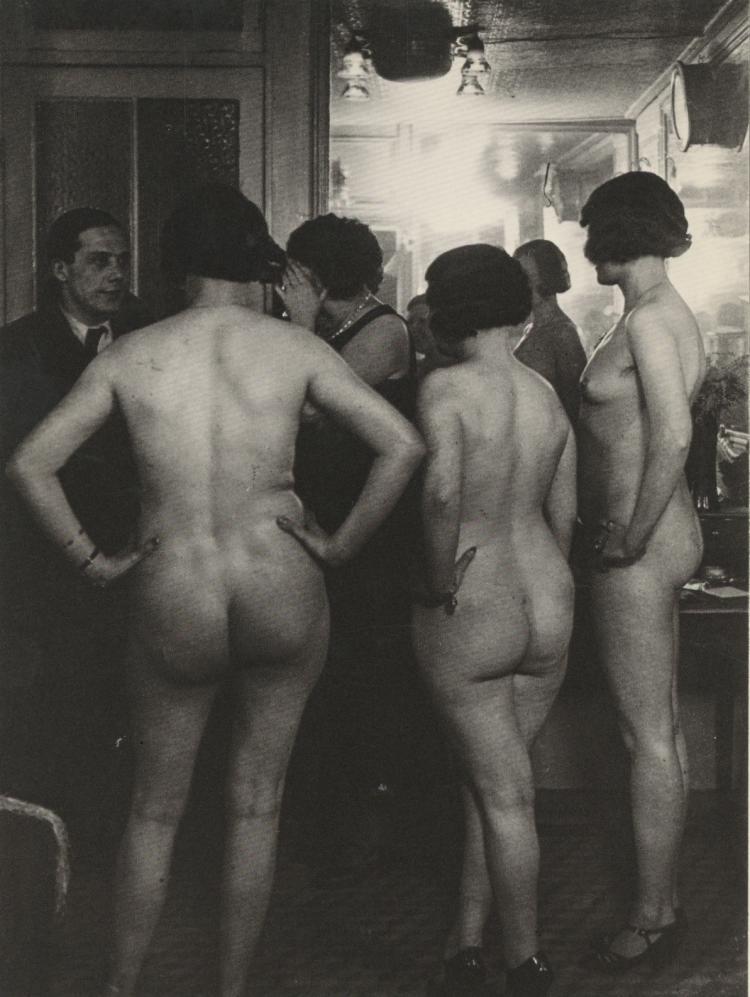GILBERTE BRASSAI Nude printed 1985