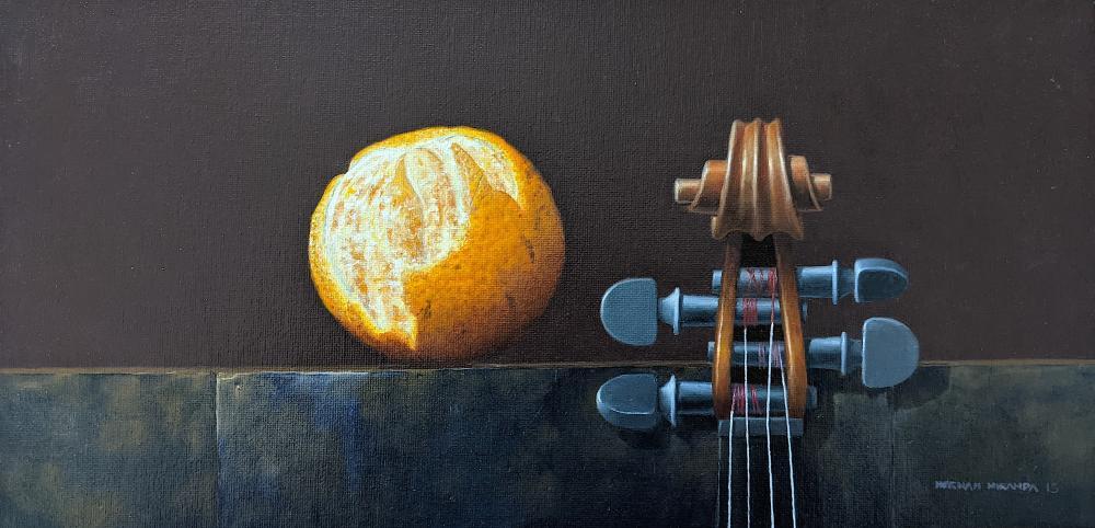 HERNAN MIRANDA (1960 -) Still Life Oil Realism