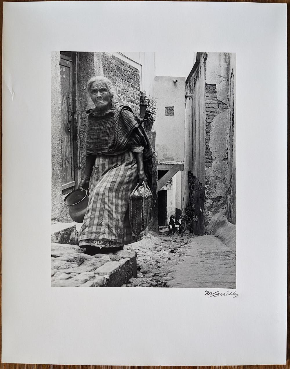 Original Photo By MANUEL CARRILLO Mexican, 1906-1989 Sign And Stamp