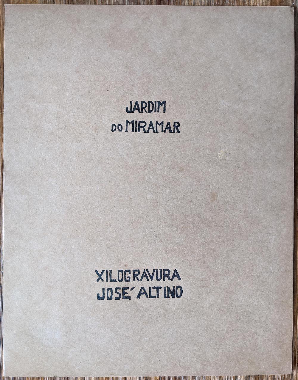 JOSE ALTINO Brasil L. Edit. Xilogravure 10/30, Signed
