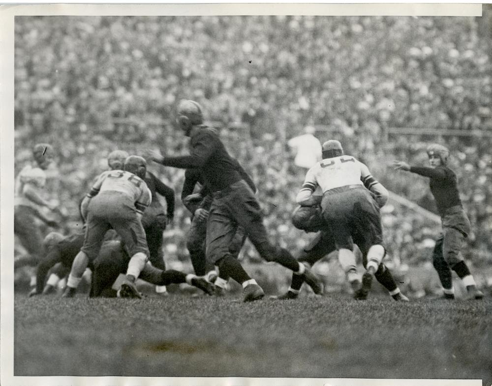 Historical Photo Football Purdue vs Northwestern 1932