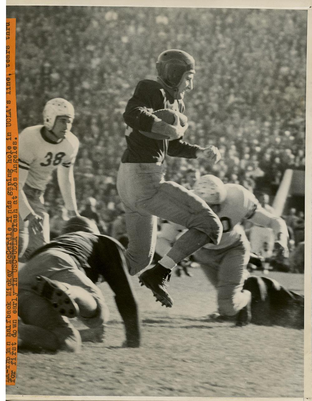 Historical Photo Football USC vs UCLA 1942
