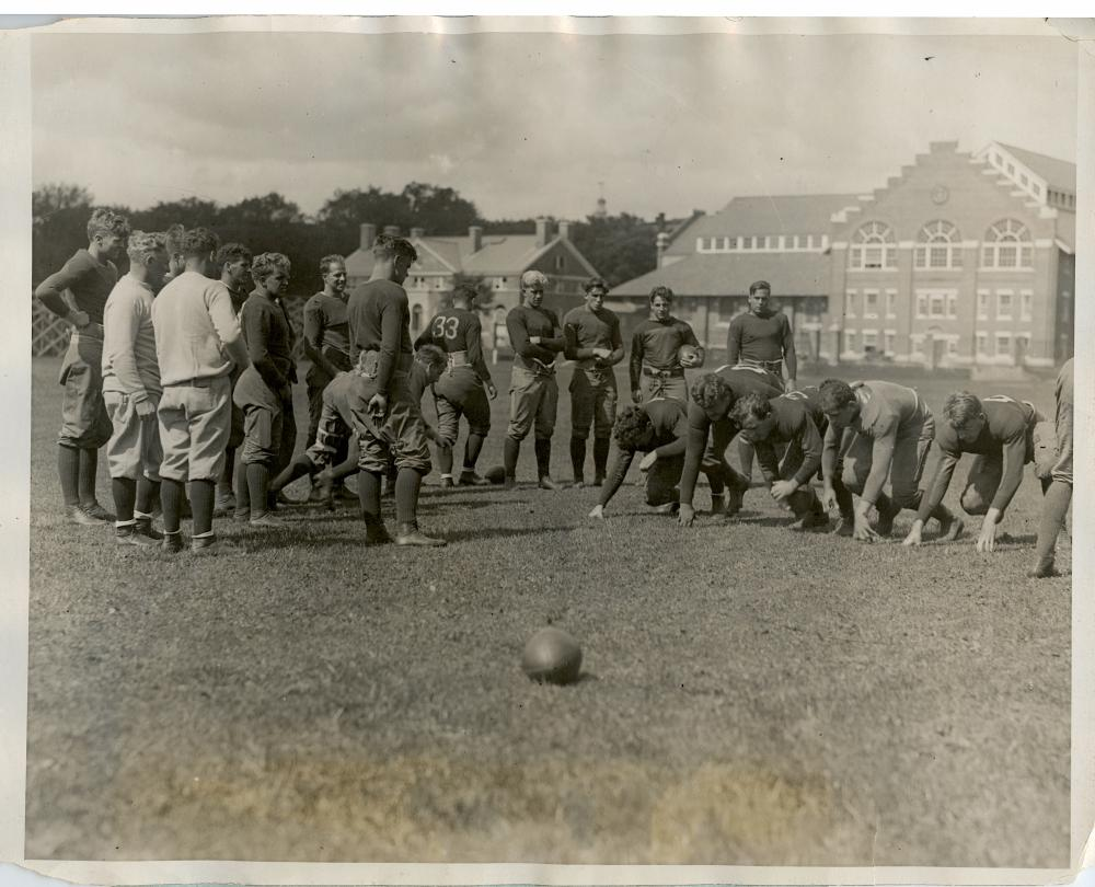 Historical Photo Football Dartmouth Candidates 1926