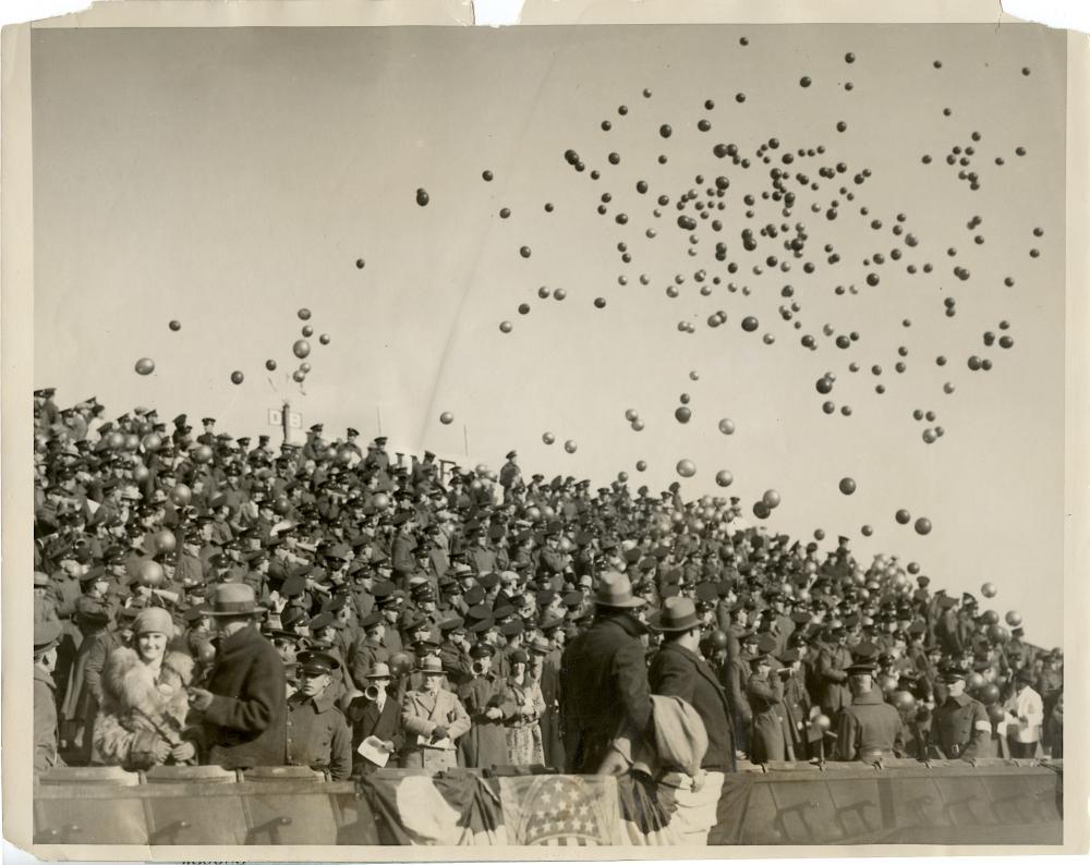 Historical Photo Football Marine Celebration 1927