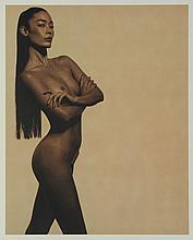 Karl Lagerfeld - Ceciia Dean 1997 Nude