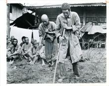 Antique Gelatin JAP Captured in Burma, WWII 1945