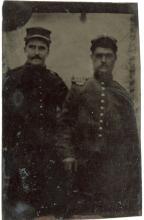 Antique Tintype Civil War Era, Militars