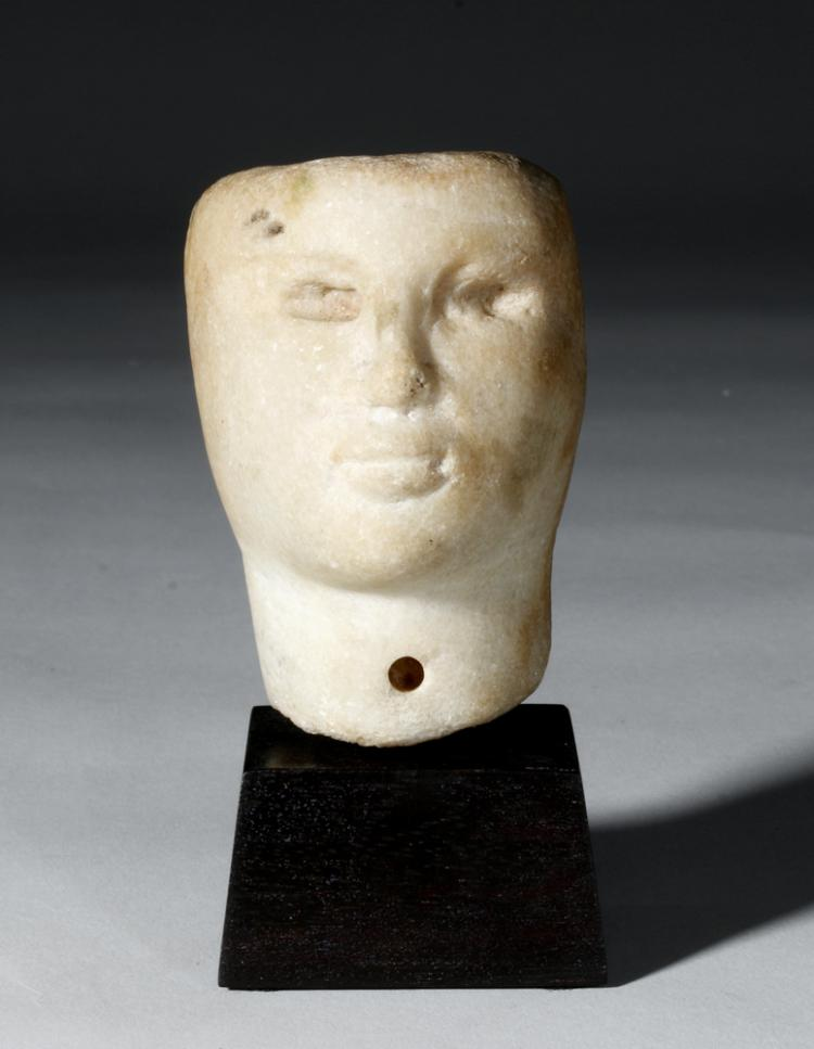 marble head of a ptolemaic queen A herculean try for goddess byline: bo emerson staff the oversize marble head of a greek deity a half-inch portrait of a ptolemaic queen.