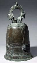 Huge / Translated Chinese Qing Dynasty Bronze Bell
