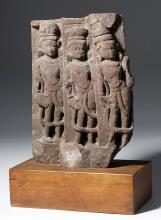 10th C. Indian HIndu Sandstone Bas Relief