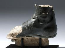 Lifesize+ Ancient Greek Bronze Sandaled Foot