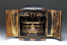 19th C. Japanese Lotus Sutra / Tenkai Nankobo Shrine