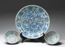 Group of Chinese Ming Dynasty Shipwreck Porcelains