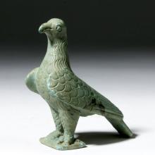Roman Cast Bronze Statuette - Proud Eagle