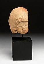 Tlatilco Flat Figure Head