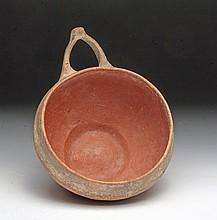 Cypriot Bronze Age Bi-Chrome Terracotta Dipper