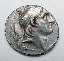 Ancient Greek Silver Tetradrachm - Demetrius I