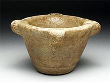Romano-Egyptian Marble Mortar