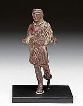 Roman Togatus Figure - River Patina