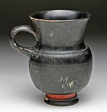 Greek Campanian Ribbed Mug