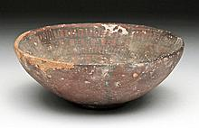 Indus Valley Decorated Redware Bowl