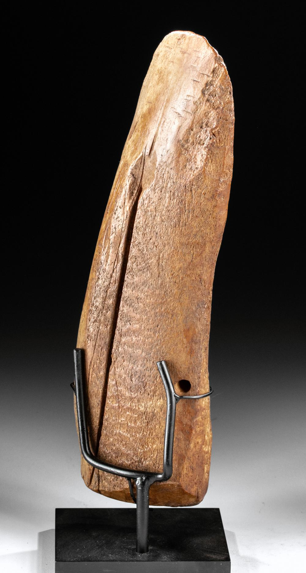 West Arctic Thule Whale Bone Adze Ca 1200 1700