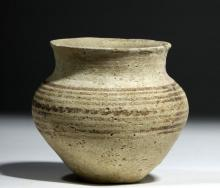 Cypriot Black-on-White Pottery Cup