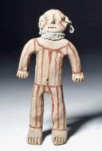 1950s Mojave Indian Clay Mud Figure, ex-Bertie Brown