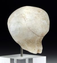 Large Anatolian Marble Kilia Idol Head