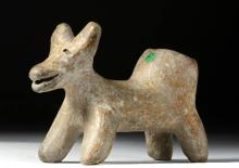 Cute Jalisco Pottery Dog Vessel