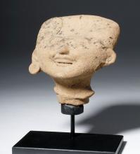 Veracruz Pottery Sonriente Head