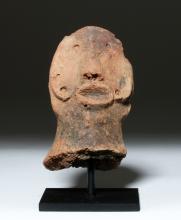 African Bura Terracotta Head