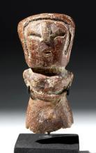 Valdivian Pottery Hermaphroditic Venus Figure
