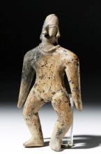 Archaic Colima Pottery Flat Female