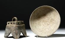 Jalisco Pottery Bowl + Incensario