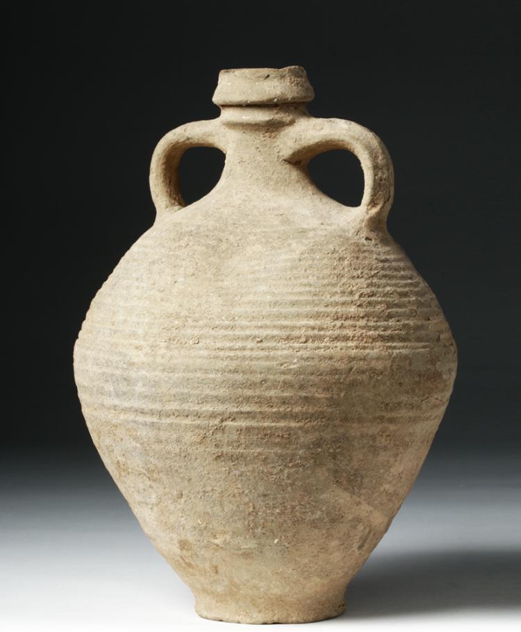 Holy Land Pottery Double Handled Jug