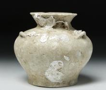 Vietnamese Pottery Jarlet - Hoi An Shipwreck
