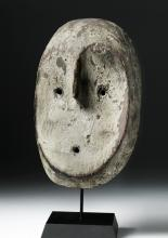 Early 20th C. Fine African Lega Wooden Mask