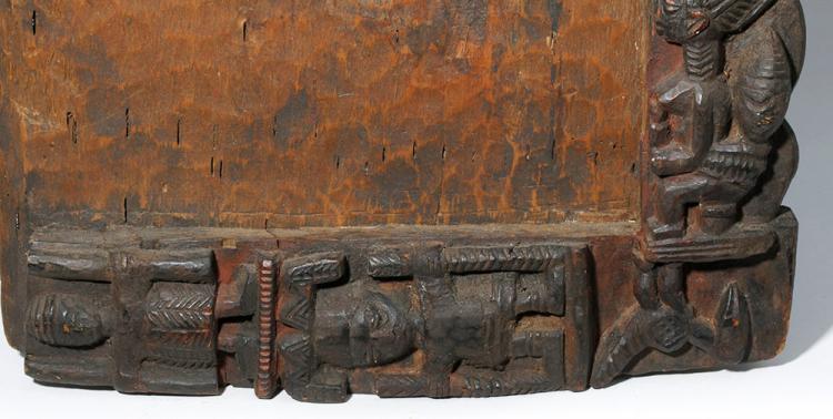 Large 19th C. African Yoruba Wood Divination Board