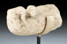 Egyptian Limestone Bes Erotic Sculpture, ex-Christie's
