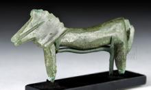 Miniature Archaic Greek Bronze Horse Figure