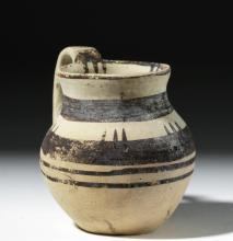 Greek Daunian Terracotta Miniature Jug