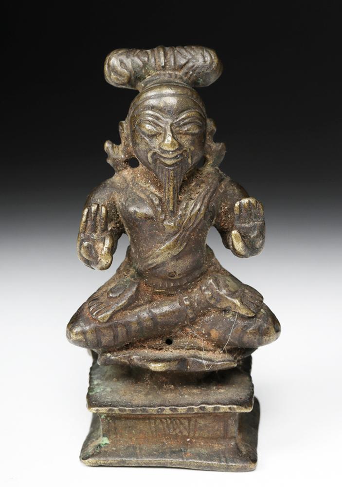 Late 18th C. Indian Bronze Brahma